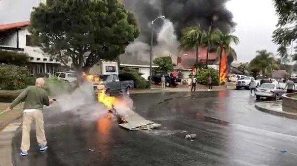 Καλιφόρνια: Αεροσκάφος Cessna έπεσε πάνω σε σπίτι