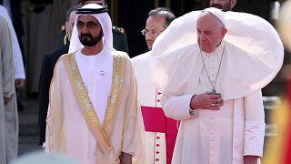 """Le pape François aux Emirats : """"Je viens ici comme un frère"""""""