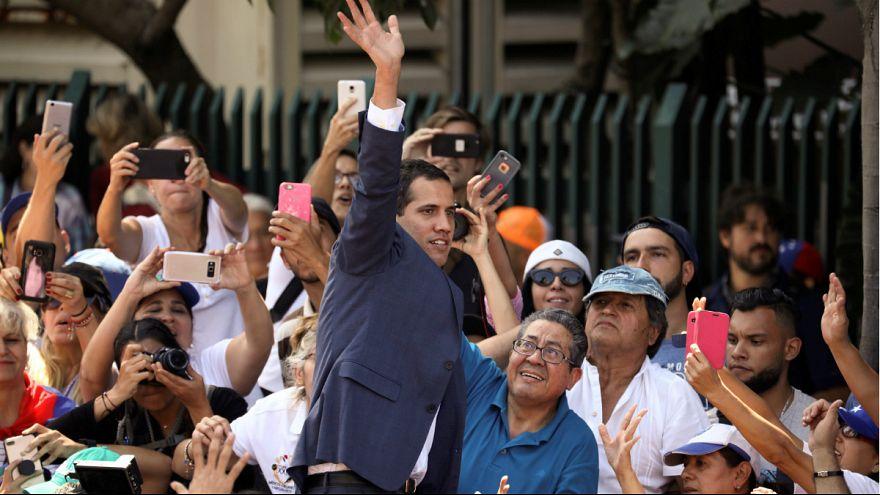 کشورهای اروپایی گوایدو را به عنوان رئیس جمهوری موقت ونزوئلا به رسمیت شناختند