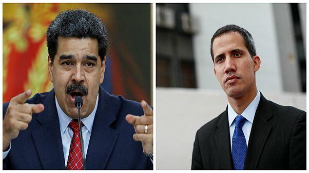 """كأحجار الدومينو.. اعترافات أوروبية بـ""""غوايدو"""" رئيساً لفنزويلا ومادورو يرفض المهلة"""