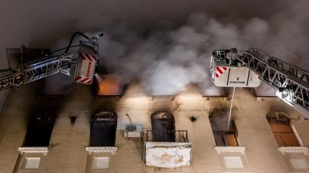 Mindestens 7 Tote bei Brand in Moskau