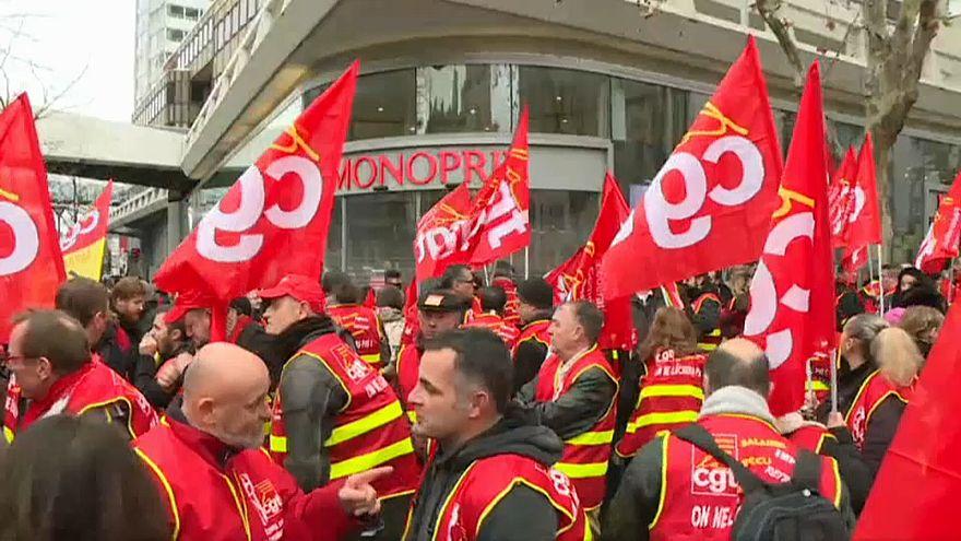 La CGT appelle à la grève générale contre la politique de Macron