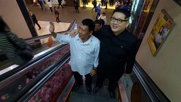 Rodrigo Duterte ile Kim Jong-un