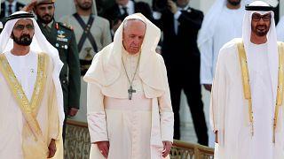 El papa en Abu Dhabi