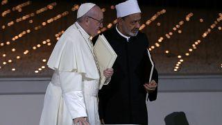 Papa Francis ve Ezher Şeyhi Ahmed Tayyib
