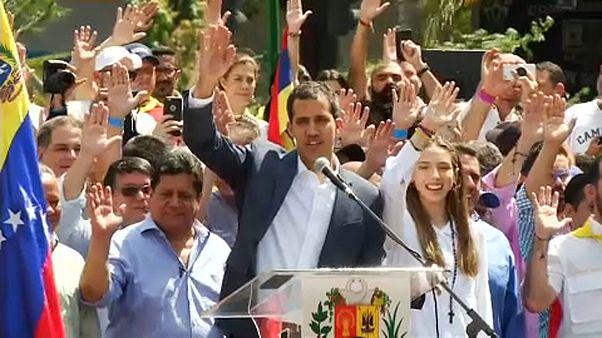 Róma nem ismeri el Guaidót Venezuela ideiglenes elnökeként