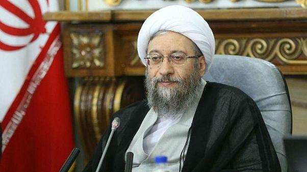 آملی لاریجانی، رئیس قوه قضائیه ایران