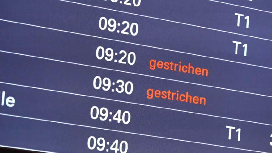 Bodenpersonal streikt: Ausfälle am Flughafen Hamburg