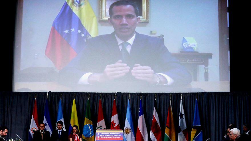 Venezuela'da muhalif lider Guaido'ya internet üzerinden sansür