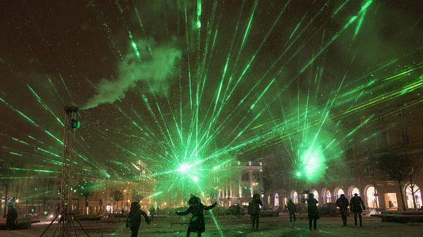 رقص نور در لیتوانی