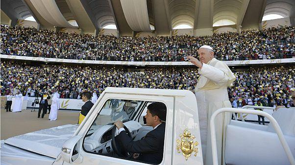 مراسم عشای ربانی پاپ در امارات متحده عربی