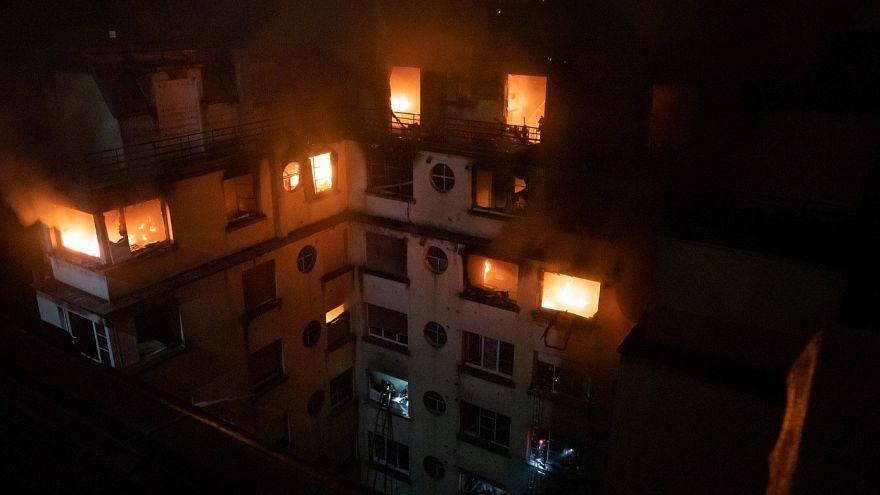 Пожар в Париже стал крупнейшим за последние 13 лет