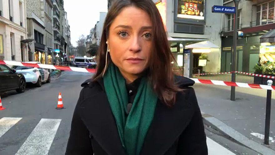 Chamas consomem edifício de 8 andares em Paris