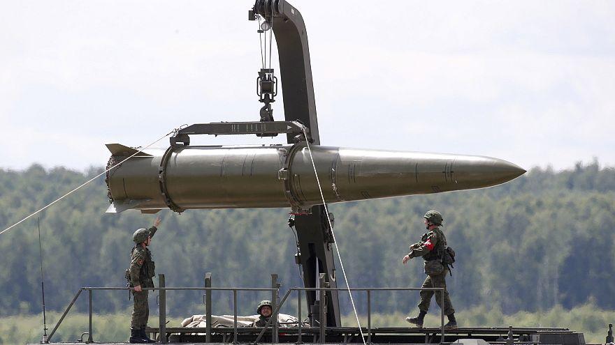 Rus İskender taktik füzesi