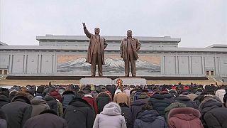شاهد احتفال كوريا الشمالية برأس السنة القمرية