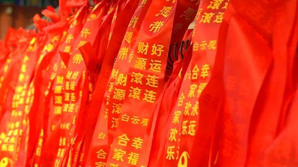 شاهد: كيف يحتفل الصينيون بدخول السنة القمرية الجديدة