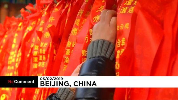 Традиционные храмовые гулянья в Пекине