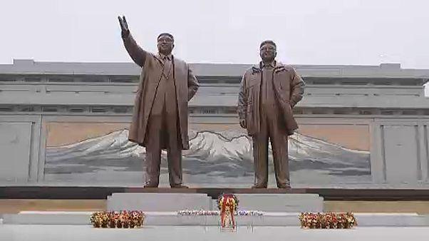 Nordkorea: Neujahrs-Feiern ohne Schnee