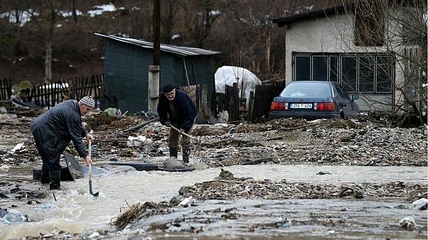 State of emergency declared in parts of Bosnia amid severe flooding