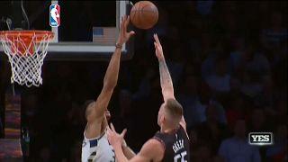 In der NBA kommen die Milwaukee Bucks und die Sacramento Kings zu klaren Siegen