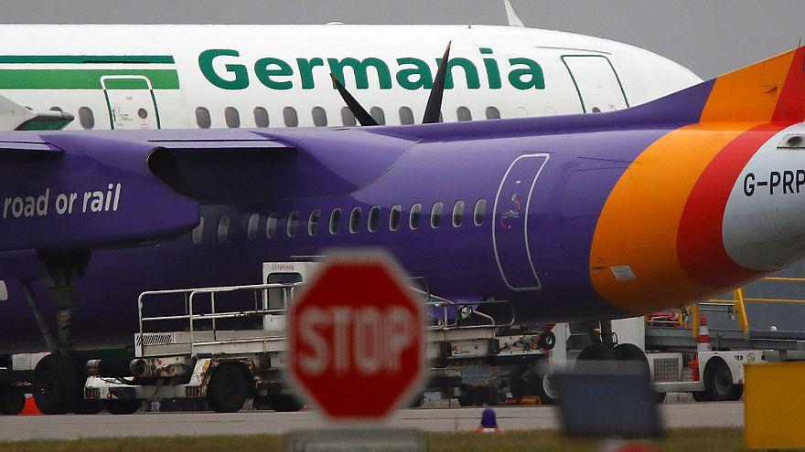 Azonnali hatállyal megszűnteti járatait a Germania