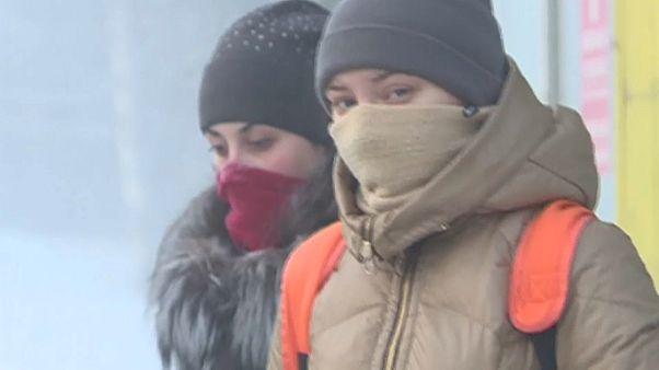 Аномальные морозы в Сибири
