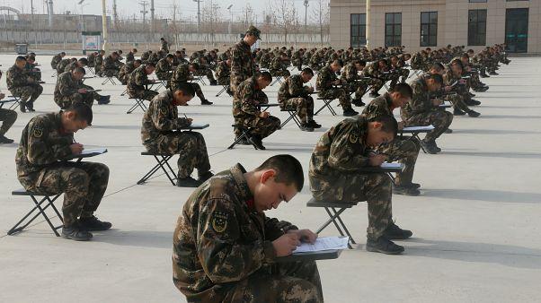 """مركز """"إعادة تأهيل"""" وفق التعبير الصيني الرسمي خاص بالمسلمين الإيغور"""