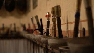 A la plus vieille salle d'armes de Paris, l'escrime comme au 19e siècle