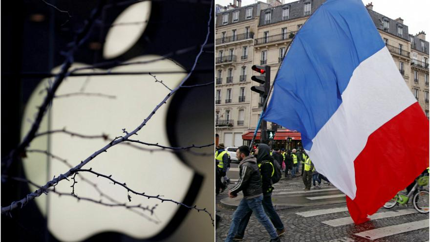 Fransa'dan Apple'a ağır fatura: Dev şirket 500 milyon euro vergi ödeyecek