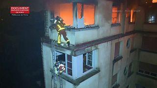 Incendio de origen criminal en París