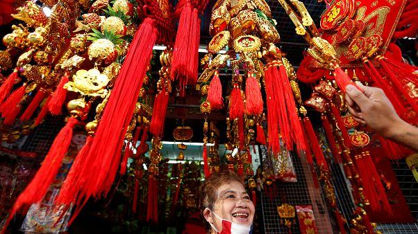Dünyanın dört bir yanındaki Çinliler Domuz Yılı'nı kutluyor