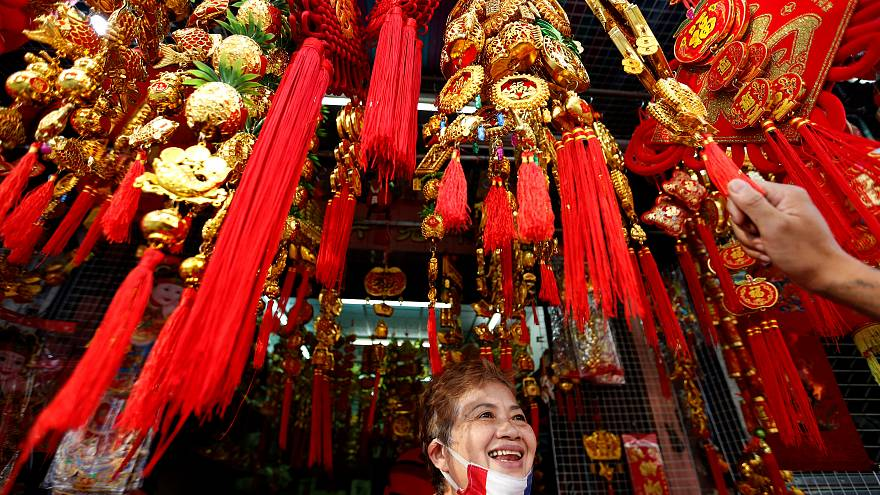 Chinese communites around the world celebrate the Year of the Pig