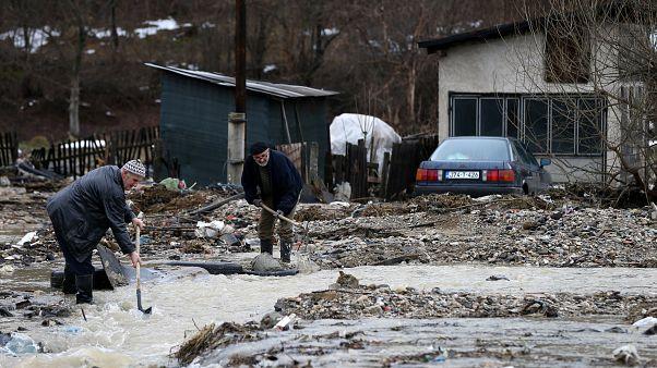 Bosna'da sel