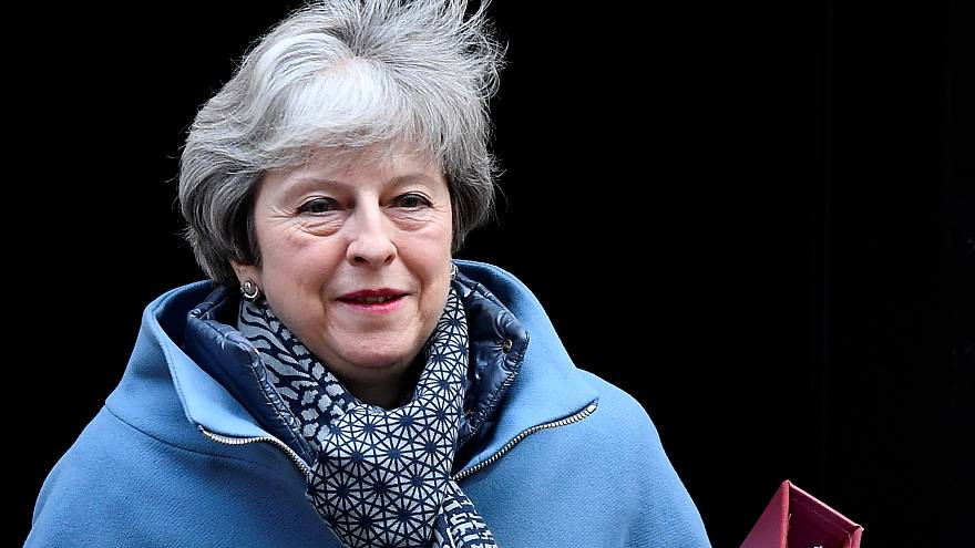 May leaves 10 Downing Street