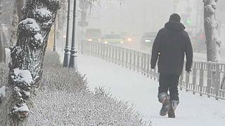 Sibirische Eiseskälte: Minus 60 Grad