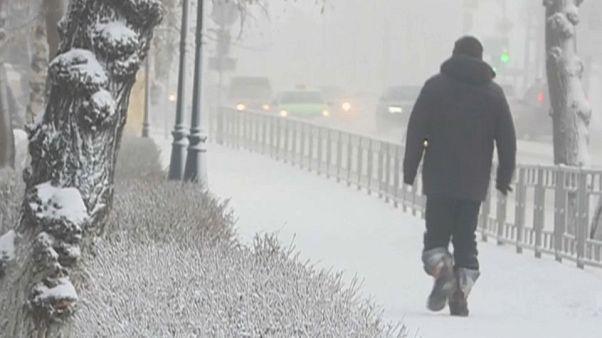 Siberia se despierta a 60 grados bajo cero