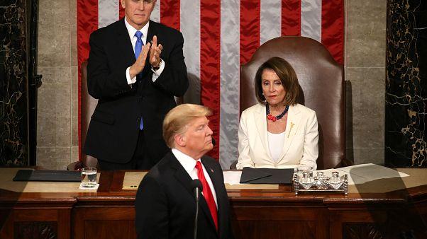 """Trump se aferra a su muro en el discurso del Estado de la Unión: """"Los muros salvan vidas"""""""