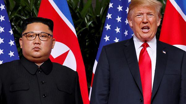 Donald Trump e Kim Jong-un encontram-se em Hanói no fim do mês