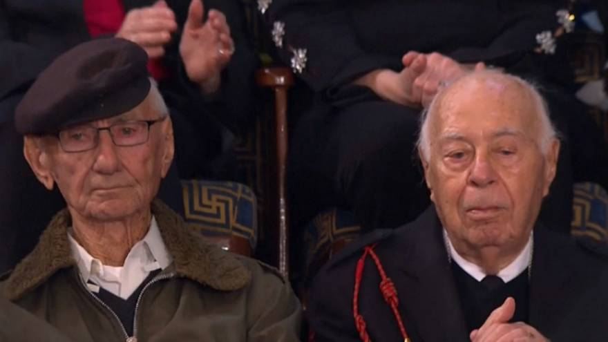 Watch: Nazi concentration camp survivor and liberator sit side-by-side at Trump's SOTU address