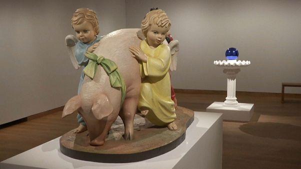 """Jeff Koons:  """"A arte une todas as humanidades"""""""