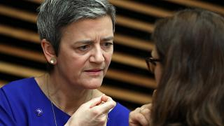 European Competition Commissioner Margrethe Vestager on Feb 6, 2019.