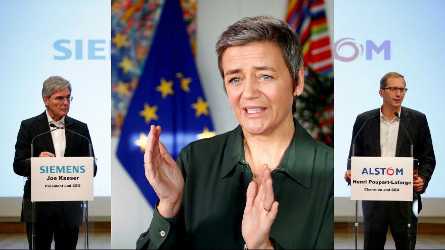 Comissão Europeia trava fusão Siemens-Alstom em defesa da ferrovia