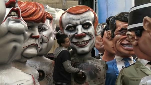 Giant effigies of Trump, Putin and Macron to feature in France parade