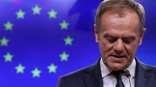 """Pour Donald Tusk, les promoteurs du Brexit ont """"une place spéciale en enfer"""""""