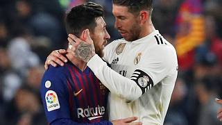 Empate en el partido de ida de semifinales de la Copa del Rey entre el Barça y el Real Madrid