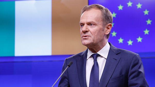 AB Konseyi Başkanı Tusk: Plansız Brexit isteyenler cehennemde özel bir yeri hak ediyor