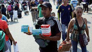Venezuela: Hilfsgüterverteilung wird zur Bewährungsprobe für Guaidó