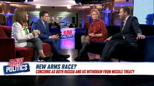 Raw Politics: The US and Russia suspend landmark arms control treaty