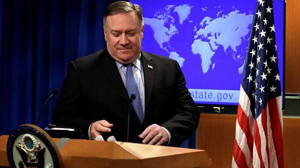 وزير الخارجية الأمريكي يطالب التحالف باستعادة المقاتلين الأجانب ومعاقبتهم