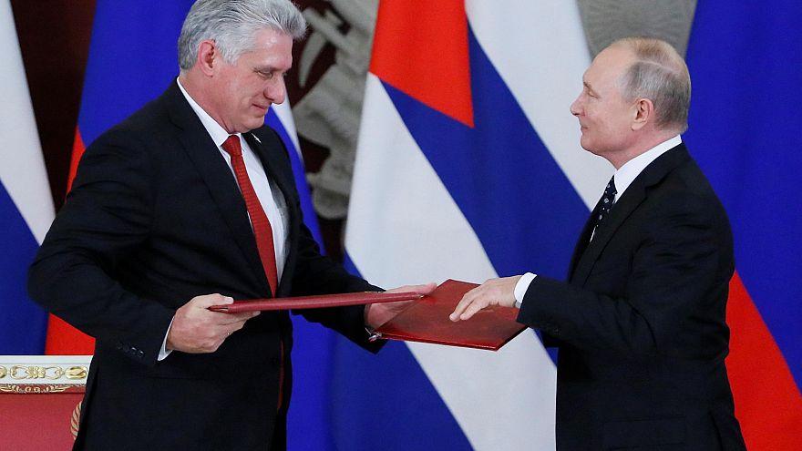 Rusya: Küba'ya 38 milyon euroluk kredi onaylandı